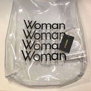 Forever 21 Clear Tote Bag